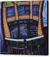 The Wine Loft Canvas Print