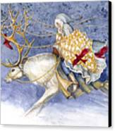The Winter Changeling Canvas Print by Janet Chui