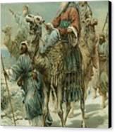 The Wise Men Seeking Jesus Canvas Print