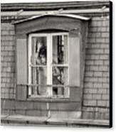 The Woman At The Window Canvas Print by Philippe Taka