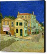 The Yellow House Canvas Print