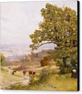 The Young Artist Canvas Print by Henry Key