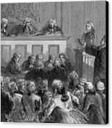 The Zenger Case, 1735 Canvas Print by Photo Researchers