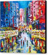 Theatre Street Canvas Print