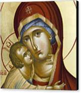 Theotokos Canvas Print by Julia Bridget Hayes