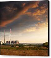 Thermoelectrical Plant Canvas Print