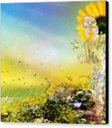They Call Me Summer Canvas Print by Mary Hood