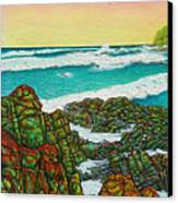 Third Bay Coolum Beach Triptych Canvas Print