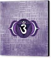 Third Eye Chakra - Awareness Canvas Print