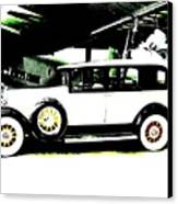 Thirties Packard Limo Canvas Print