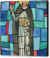 Thomas Aquinas Italian Philosopher Canvas Print by Photo Researchers