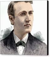 Thomas Edison, American Inventor Canvas Print