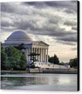 Thomas Jefferson Memorial Canvas Print by Gene Sizemore