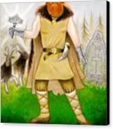 Thor Odinsson Canvas Print by Ilias Patrinos