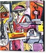 Those Crazy Musicians Canvas Print