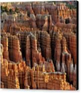 Those Hoodoo's.  Bryce Canyon Canvas Print by John Rav