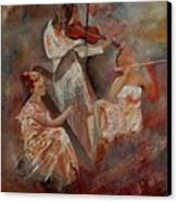 Three Musicians  Canvas Print