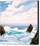 Three Rocks Canvas Print