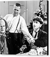 Three Stooges: Film Still Canvas Print by Granger