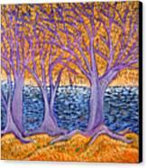 Three Trees Canvas Print