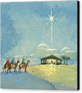 Three Wise Men Canvas Print by David Cooke