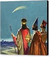Three Wise Men Canvas Print by English School
