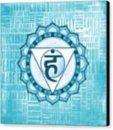 Throat Chakra - Awareness Canvas Print