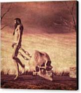 Through The Valley  Canvas Print by Bob Orsillo