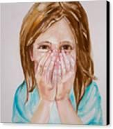 Tickled Pink Canvas Print by Anne Cameron Cutri