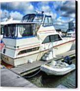 Tidewater Yacht Marina 5 Canvas Print by Lanjee Chee