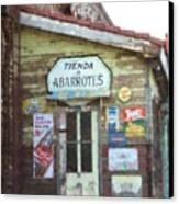 Tienda De Abarrotes Canvas Print