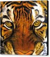 Tiger Mask  Original Oil Painting Canvas Print