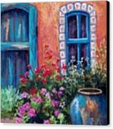 Tiled Window Canvas Print