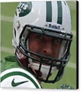 Tim Tebow - New York Jets Florida Gators - Timothy Richard Tebow Canvas Print by Lee Dos Santos