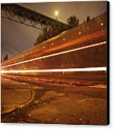 Time Train Canvas Print