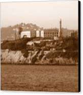 Timeless Alcatraz Canvas Print