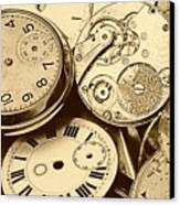 Timepieces Canvas Print by John Short