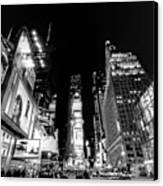 Times Square Don't Shine As Bright As You Canvas Print by Ariane Moshayedi