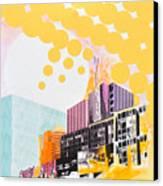 Times Square Milenium Hotel Canvas Print