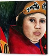 Tinglit Native Girl Canvas Print