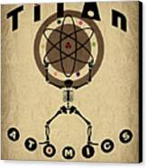Titan Atomics Canvas Print