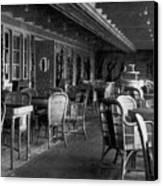 Titanic: Parisian Cafe, 1912 Canvas Print by Granger