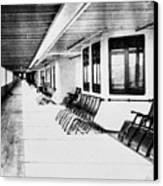 Titanic: Promenade Deck Canvas Print