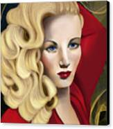 To Veronica Lake Canvas Print