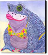 Toadaly Beautiful Canvas Print