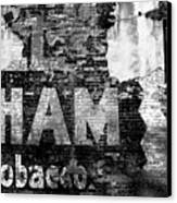 Tobacco Days Canvas Print