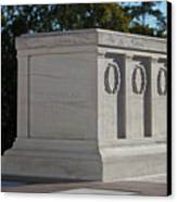 Tomb Of The Unknown Soldier, Arlington Canvas Print by Terry Moore