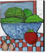 Tonight's Salad Canvas Print