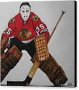 Tony Esposito Canvas Print by Brian Schuster