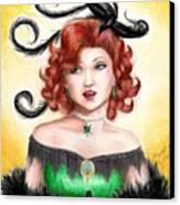 Tonya Canvas Print by Scarlett Royal